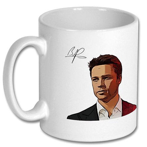 Brad Pitt 10oz Mug