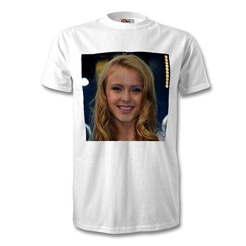 Zara Larsson Autographed Mens Fashion T-Shirt