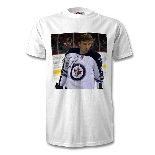 Blake Wheeler Boston Bruins NHL Autographed Mens Fashion T-Shirt