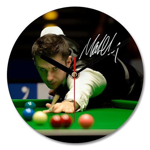 Mark Selby - Snooker Autographed Wall Clock