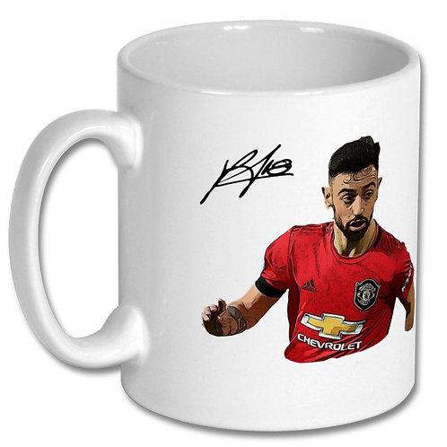 Bruno Fernandes Manchester United 10oz Mug
