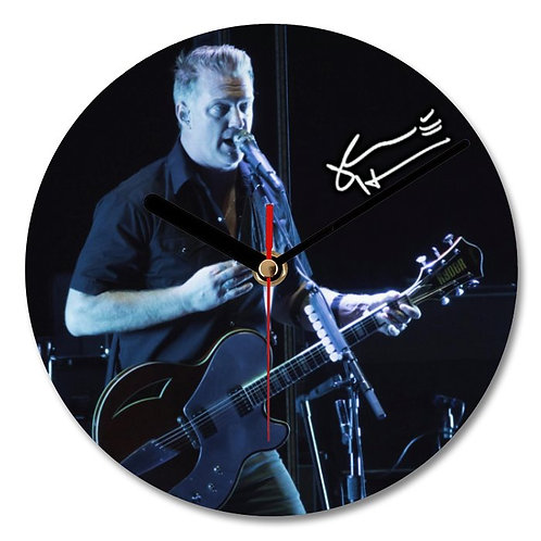 Josh Homme - Queens of the Stone Age Autographed Wall Clock