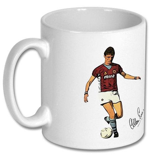 Allan Evans Aston Villa 10oz Mug