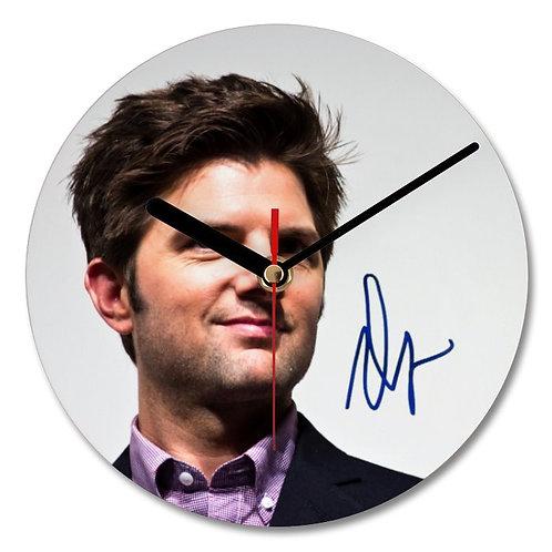 Adam Scott Autographed Wall Clock