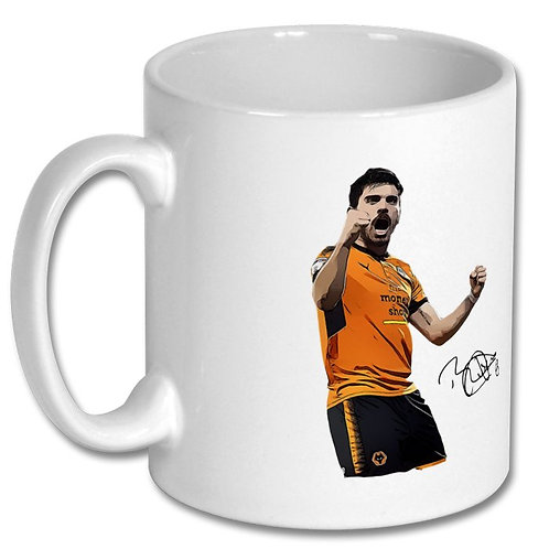 Ruben Neves Wolverhampton Wanderers 10oz Mug