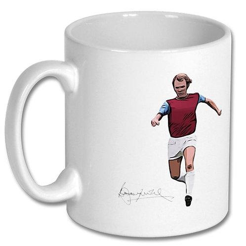 Bobby Moore West Ham United 10oz Mug