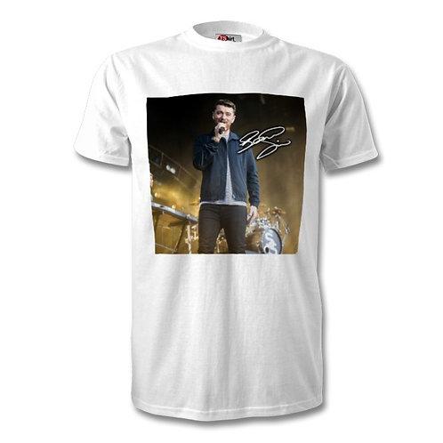 Sam Smith Autographed Mens Fashion T-Shirt