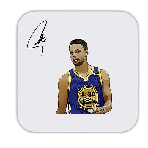 Stephen Curry Golden State Warriors Drinks Coaster 9 x 9cm