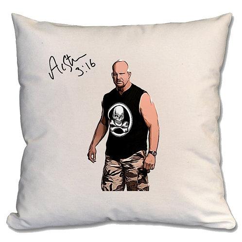 Stone Cold Steve Austin Large Cushion
