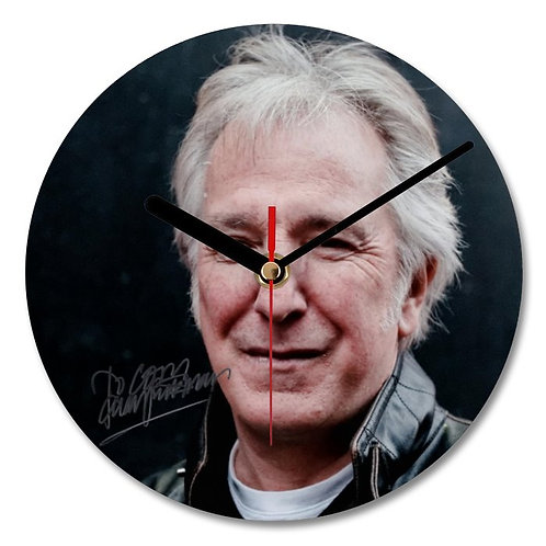 Alan Rickman - Harry Potter - Severus Snape Autographed Wall Clock