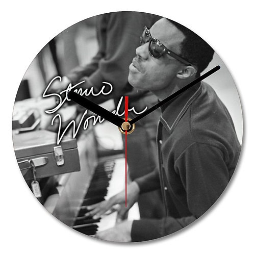 Stevie Wonder Autographed Wall Clock