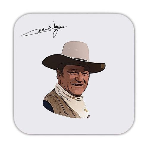 John Wayne Drinks Coaster 9 x 9cm