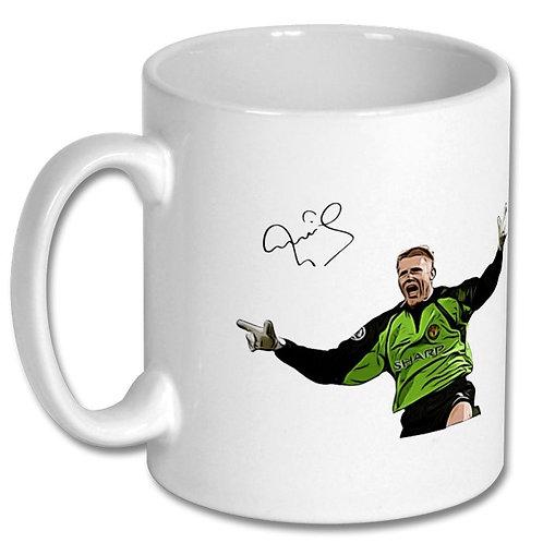 Peter Schmeichel Manchester United 10oz Mug