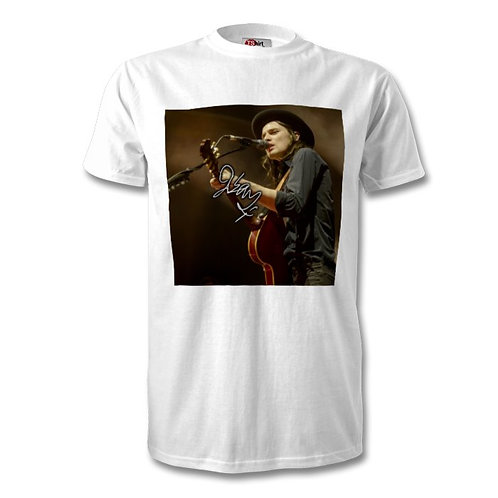 James Bay Autographed Mens Fashion T-Shirt