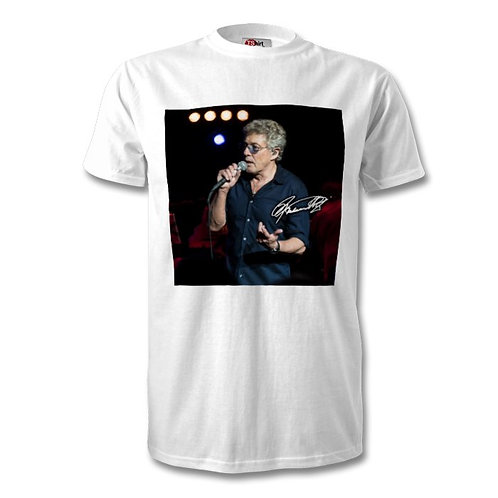 Roger Daltrey The Who Autographed Mens Fashion T-Shirt