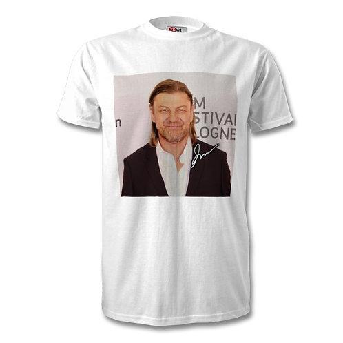 Sean Bean Autographed Mens Fashion T-Shirt
