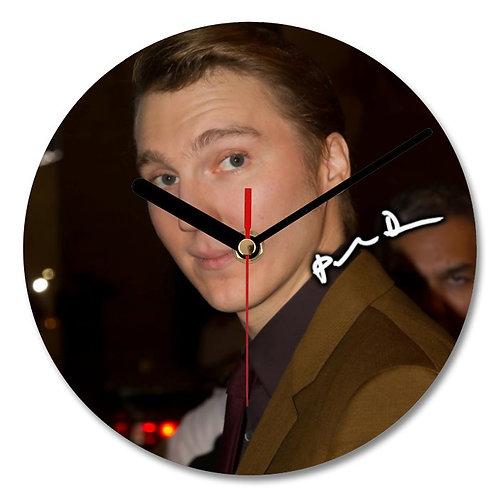 Paul Dano Autographed Wall Clock