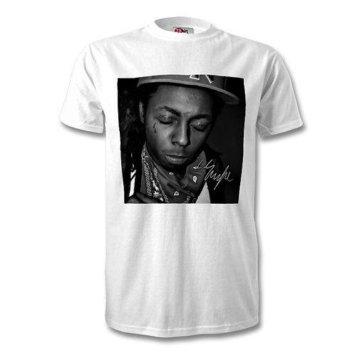 Lil Wayne Autographed Mens Fashion T-Shirt