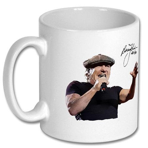 AC/DC Brian Johnson 10oz Mug