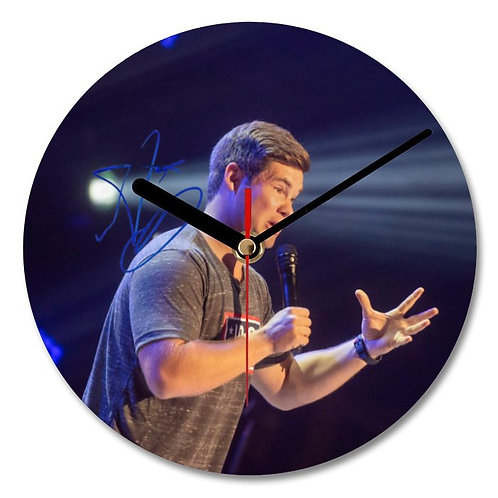 Adam DeVine - Pitch Perfect Autographed Wall Clock