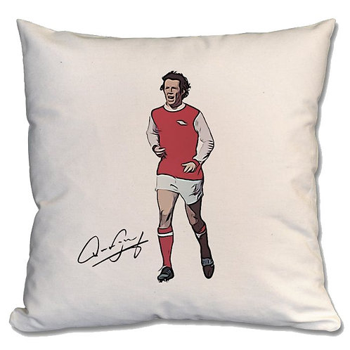 Liam Brady Arsenal Large Cushion