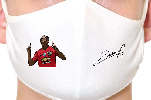 Anthony Martial Manchester United Reusable Face Mask