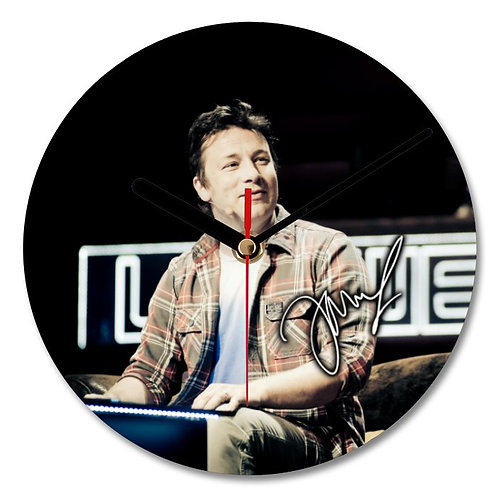 Jamie Oliver Autographed Wall Clock