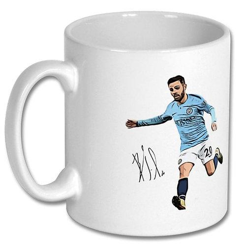 Bernardo Silva Manchester City 10oz Mug