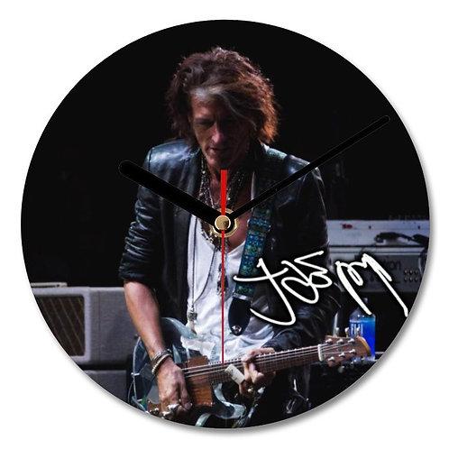 Joe Perry - Aerosmith Autographed Wall Clock