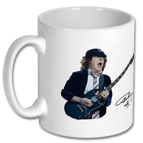 AC/DC Angus Young 10oz Mug