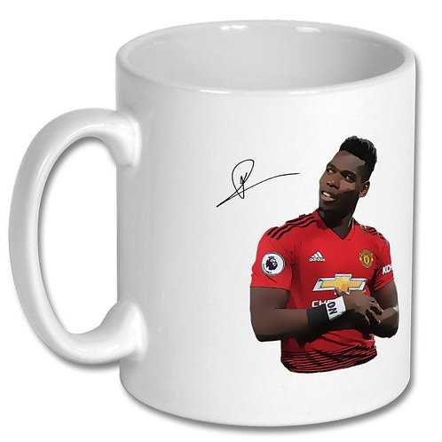 Paul Pogba Manchester United 10oz Mug