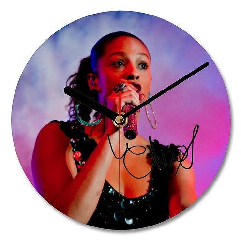 Alesha Dixon Autographed Wall Clock