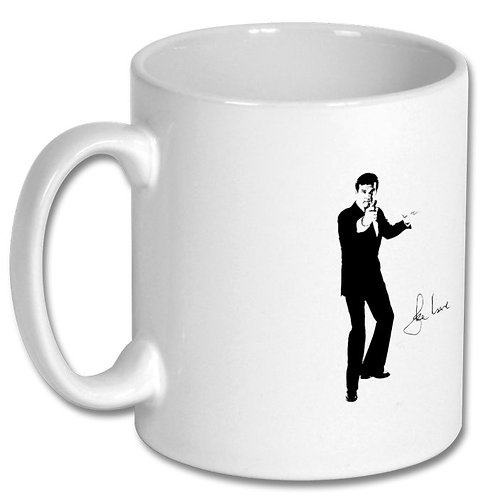 Roger Moore James Bond 007 10oz Mug