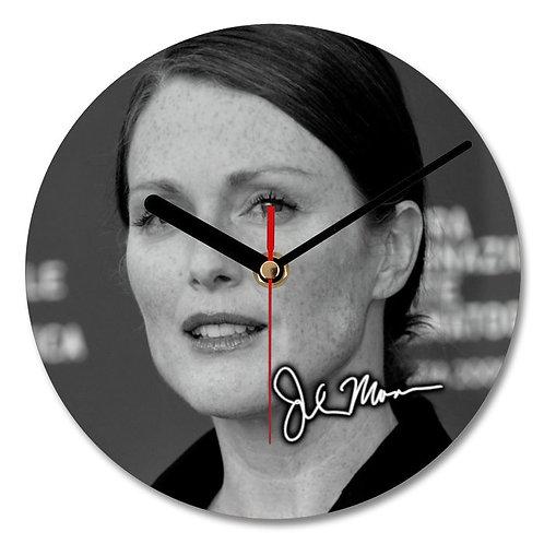 Julianne Moore Autographed Wall Clock