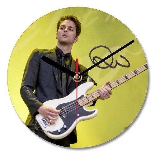 Dallon Weekes - Panic at the Disco Autographed Wall Clock