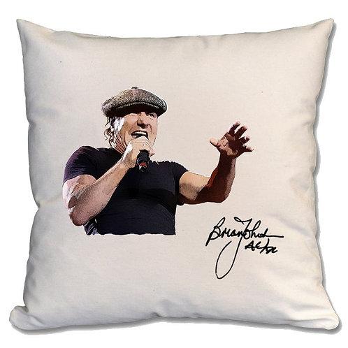 AC/DC Brian Johnson Large Cushion