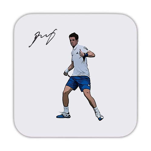 Andy Murray Tennis Drinks Coaster 9 x 9cm