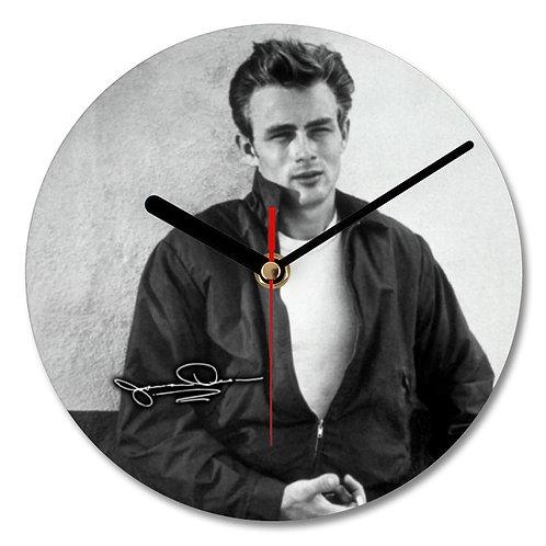 James Dean Autographed Wall Clock
