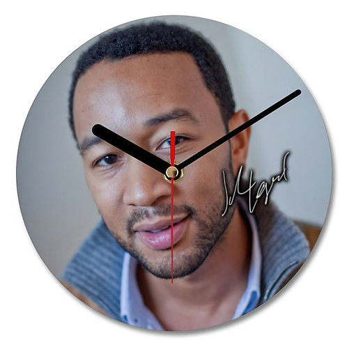 John Legend Autographed Wall Clock