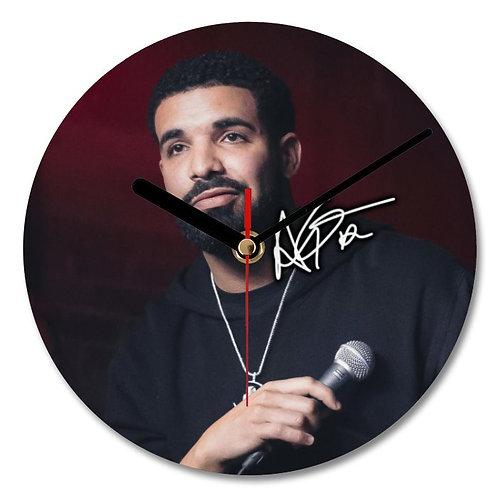 Drake Autographed Wall Clock