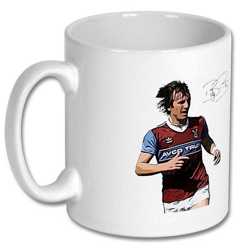 Billy Bonds West Ham United 10oz Mug
