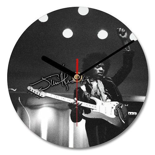 Jimi Hendrix Autographed Wall Clock