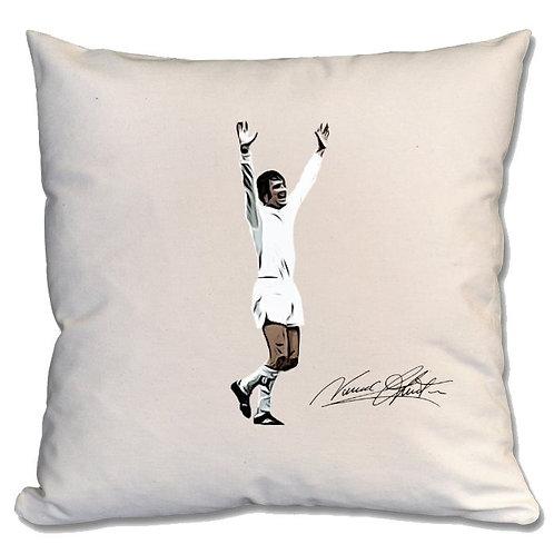 Norman Hunter Leeds United Large Cushion