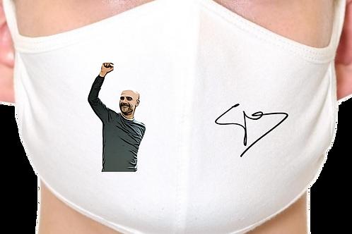 Pep Guardiola Manchester City Reusable Face Mask