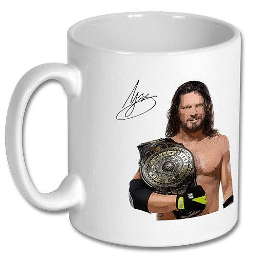 AJ Styles Wrestling 10oz Mug