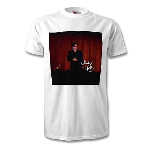 Michael McIntyre Autographed Mens Fashion T-Shirt