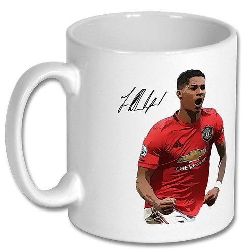 Marcus Rashford Manchester United 10oz Mug