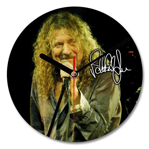 Robert Plant - Led Zeppelin Autographed Wall Clock