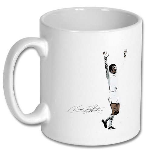 Norman Hunter Leeds United 10oz Mug