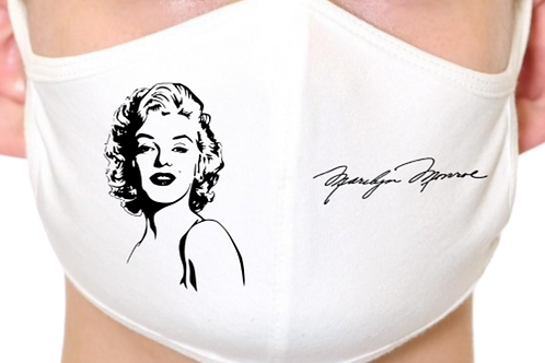 Marilyn Monroe Reusable Face Mask